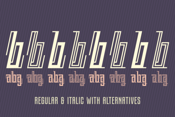 Print on Demand: Back to Ancient Time Display Font By Situjuh - Image 6