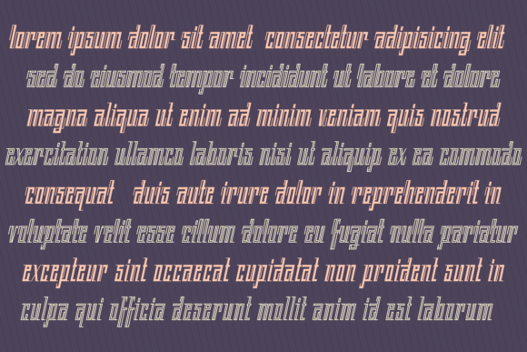 Print on Demand: Back to Ancient Time Display Font By Situjuh - Image 7