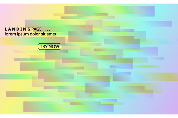 Print on Demand: Background Colorful Geometric Graphic Backgrounds By iop_micro - Image 1