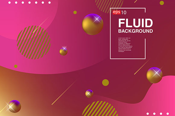 Background Fluid Design Banner Graphic By apple