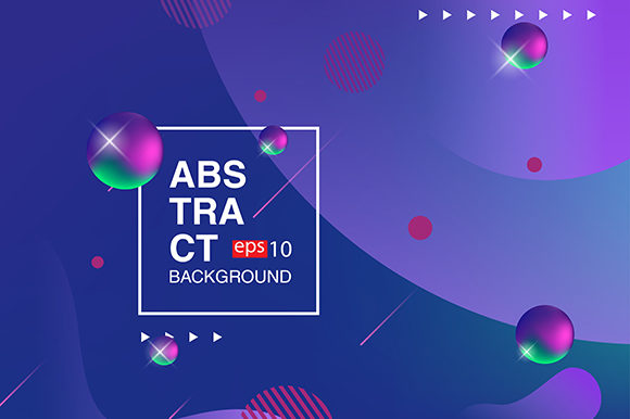 Background Fluid Design Banner Graphic Backgrounds By apple - Image 1