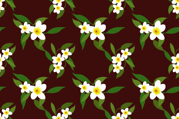 Print on Demand: Background in Small Flowers for Textiles Gráfico Moldes Por iop_micro
