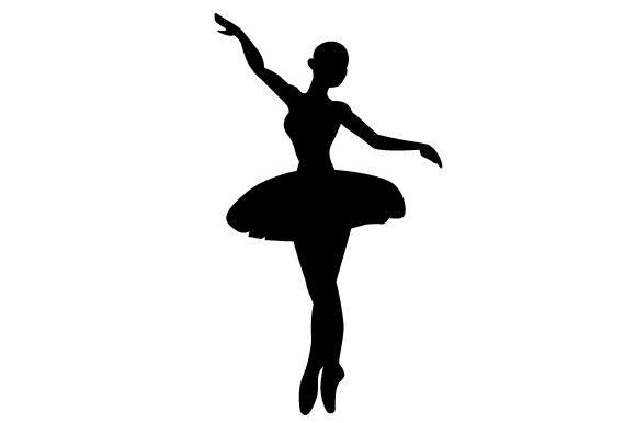 Download Free Ballet Dancer Silhouette Svg Cut File By Creative Fabrica Crafts for Cricut Explore, Silhouette and other cutting machines.