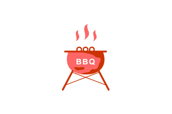 Download Free Barbecue Vector Illustration Graphic By Hartgraphic Creative for Cricut Explore, Silhouette and other cutting machines.