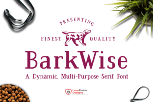BarkWise Font By LovePowerDesigns