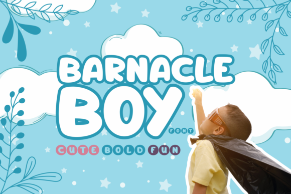 Print on Demand: Barnacle Boy Script & Handwritten Font By Rifki (7ntypes)
