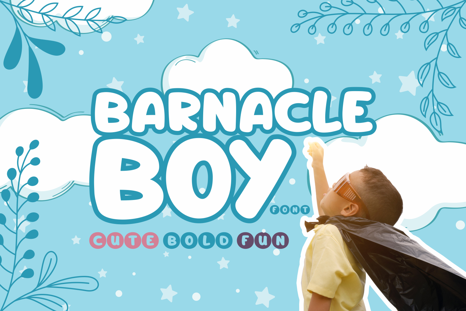 Download Free Barnacle Boy Font By Rifki 7ntypes Creative Fabrica SVG Cut Files