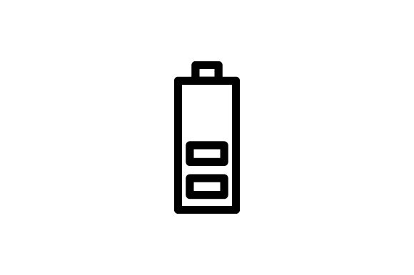 Download Free Battery Icon Graphic By Rudezstudio Creative Fabrica for Cricut Explore, Silhouette and other cutting machines.