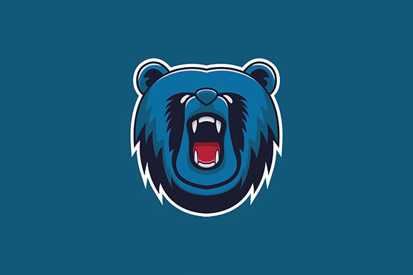 Bear Mascot Illustration Graphic Illustrations By rohmar