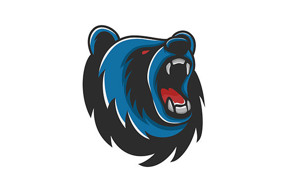 Bear Mascot Vector Logo Graphic Logos By rohmar