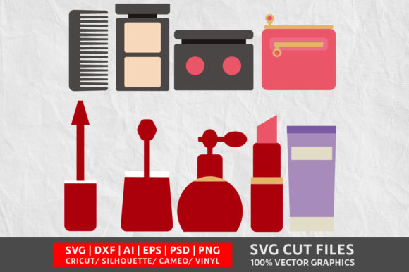 Download Free Beauty Tool Graphic By Design Palace Creative Fabrica for Cricut Explore, Silhouette and other cutting machines.