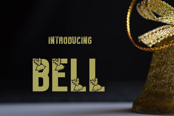 Print on Demand: Bell Decorative Font By da_only_aan