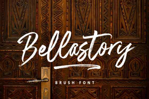 Print on Demand: Bellastory Script & Handwritten Font By Discipline