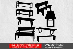 Bench SVG Graphic By Design Palace