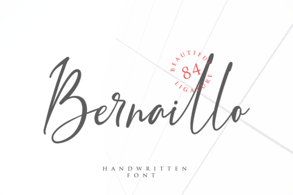 Print on Demand: Bernaillo Script & Handwritten Font By Pen Culture