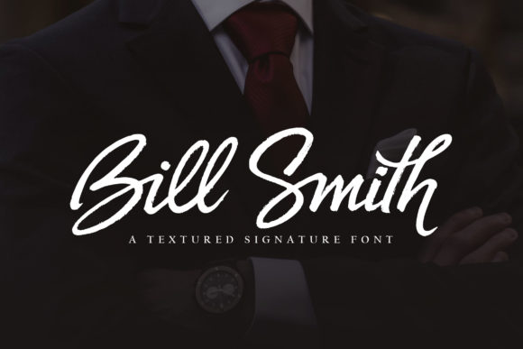 Print on Demand: Bill Smith Script & Handwritten Font By Subectype