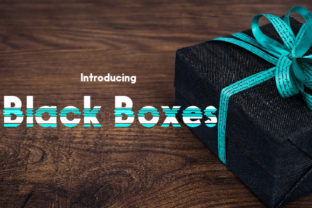 Black Boxes Font By da_only_aan