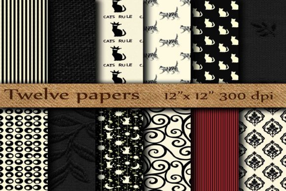 Black Cat Background Graphic Backgrounds By twelvepapers