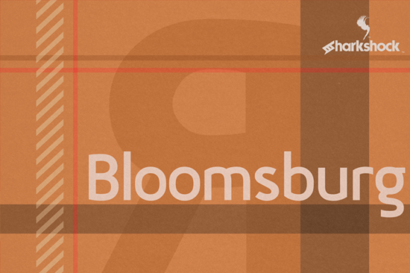 Print on Demand: Bloomsburg Sans Serif Font By Sharkshock