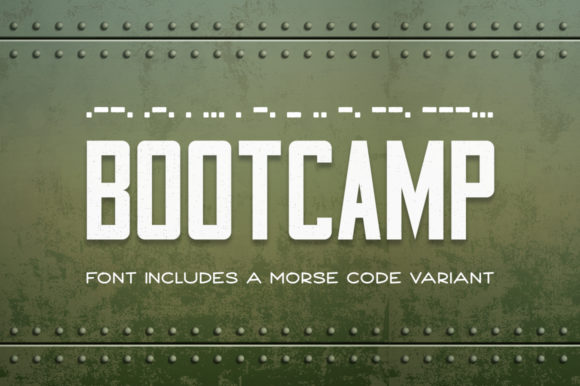 Print on Demand: Bootcamp Sans Serif Font By DonMarciano