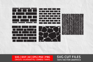 Brick Wall SVG Graphic By Design Palace