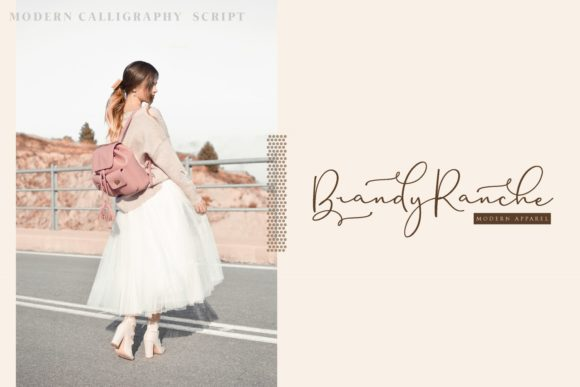 Print on Demand: Brittaney Script & Handwritten Font By Mas Anis - Image 5