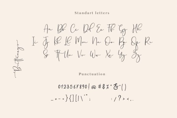 Print on Demand: Brittaney Script & Handwritten Font By Mas Anis - Image 9
