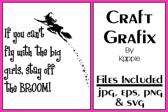 Print on Demand: Broom Graphic Crafts By Grafix by Kappie