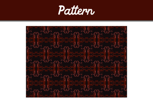 Print on Demand: Brown Background Ornament Pattern Graphic Patterns By Arief Sapta Adjie II