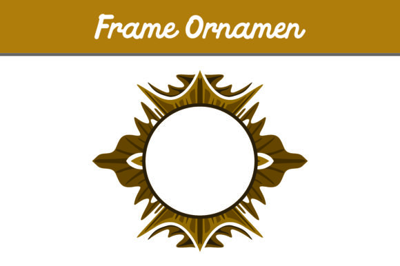 Brown Frame Ornament Graphic By Arief Sapta Adjie Image 1