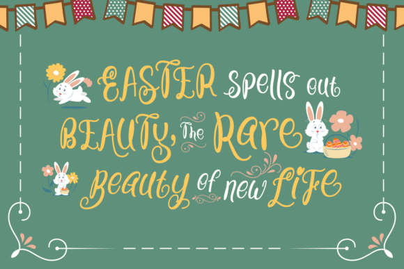 Print on Demand: Bunny Nose Script & Handwritten Font By Creative Fabrica Fonts - Image 3