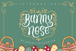 Print on Demand: Bunny Nose Script & Handwritten Font By Creative Fabrica Fonts