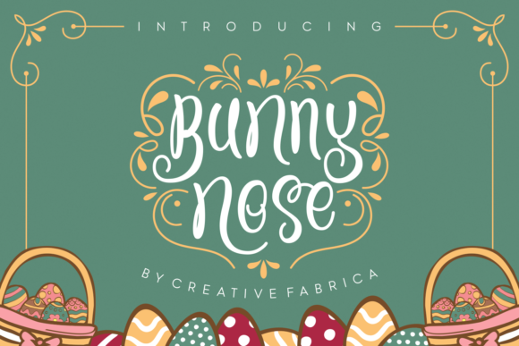 Print on Demand: Bunny Nose Script & Handwritten Font By Creative Fabrica Fonts - Image 1