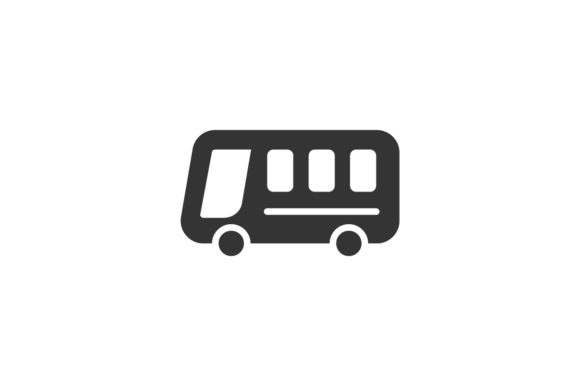 Download Free Bus Icon Graphic By Rudezstudio Creative Fabrica for Cricut Explore, Silhouette and other cutting machines.