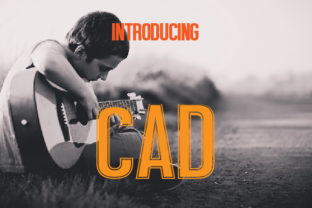 CAD Display Font By da_only_aan