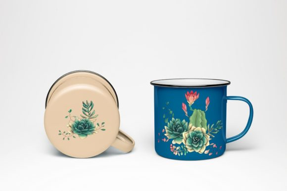Cacti & Succulents Graphic By nicjulia Image 11