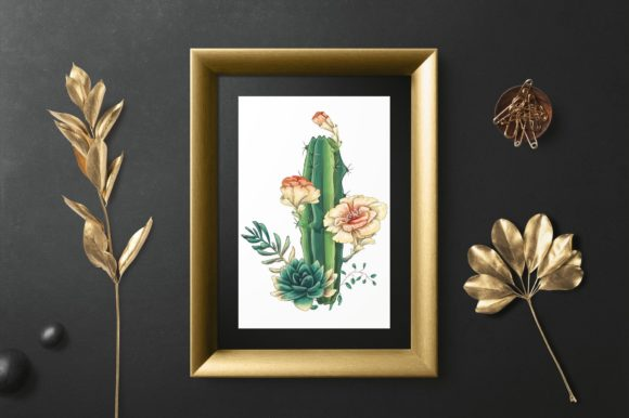 Cacti & Succulents Graphic By nicjulia Image 9
