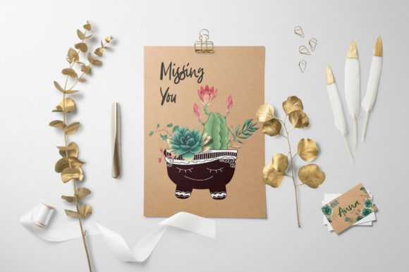 Cacti & Succulents Graphic By nicjulia Image 10