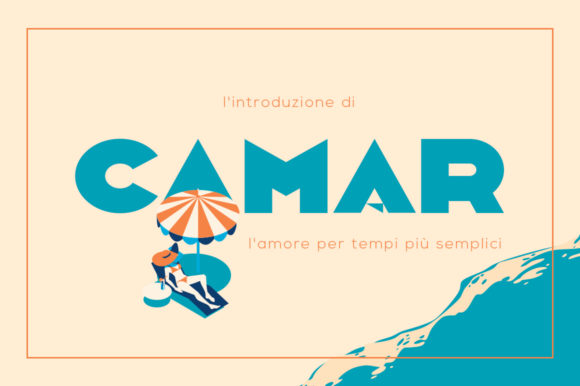 Print on Demand: Camar Display Font By DonMarciano