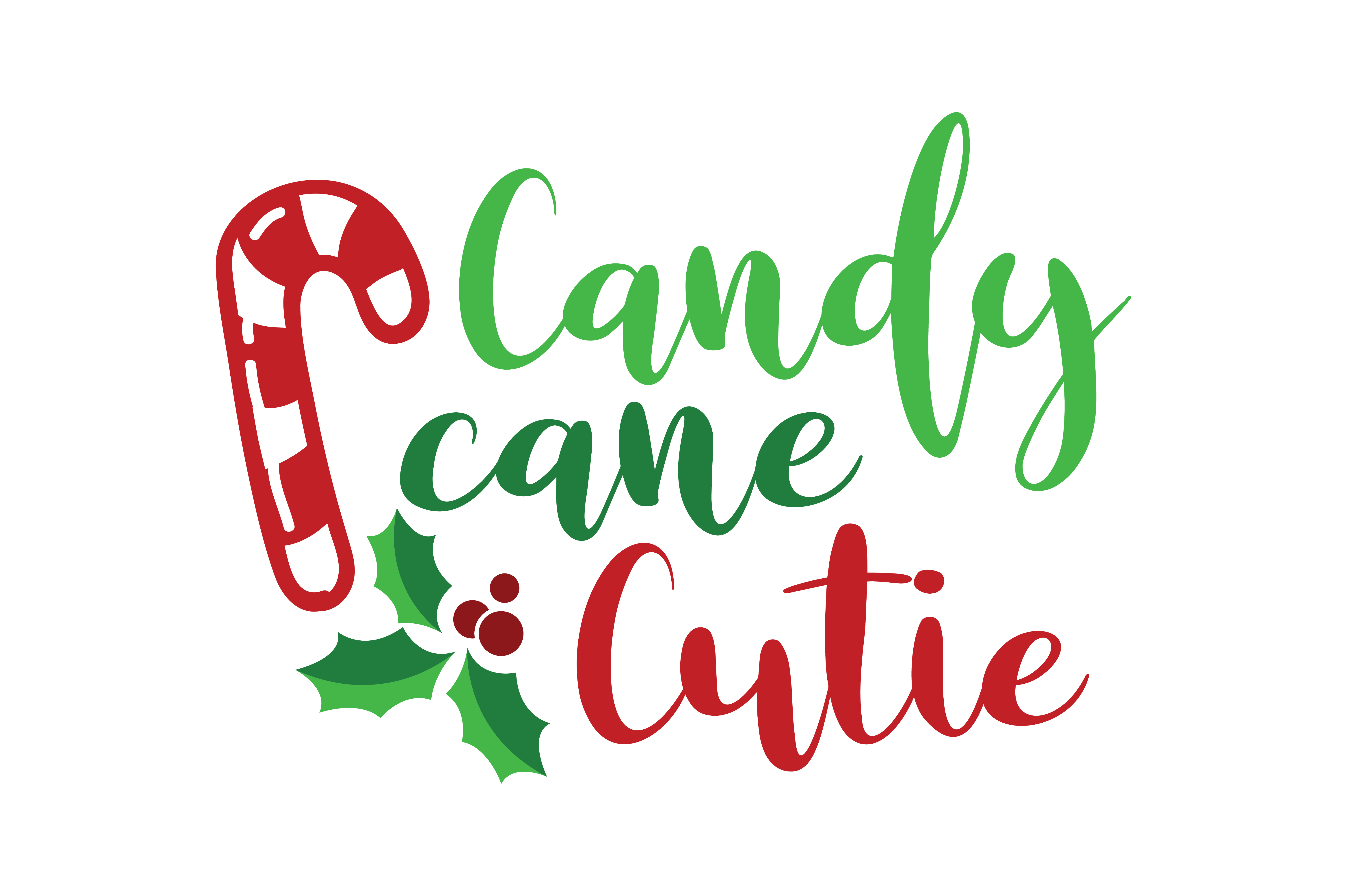 Download Free Candy Cane Cutie Svg Cut Graphic By Thelucky Creative Fabrica for Cricut Explore, Silhouette and other cutting machines.