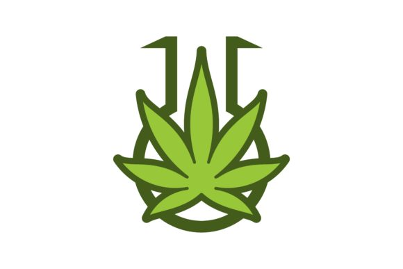 Download Free Cannabis Marijuana Laboratory Logo Graphic By Yahyaanasatokillah Creative Fabrica for Cricut Explore, Silhouette and other cutting machines.