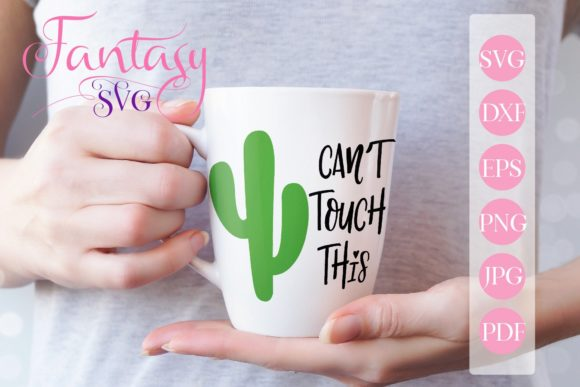 Print on Demand: Cant Touch This Svg Graphic Crafts By Fantasy SVG