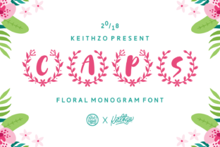 Print on Demand: Caps Display Font By Keithzo (7NTypes)