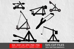 Download Free Catapult Graphic By Design Palace Creative Fabrica for Cricut Explore, Silhouette and other cutting machines.