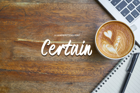 Print on Demand: Certain Script & Handwritten Font By W INTEREST