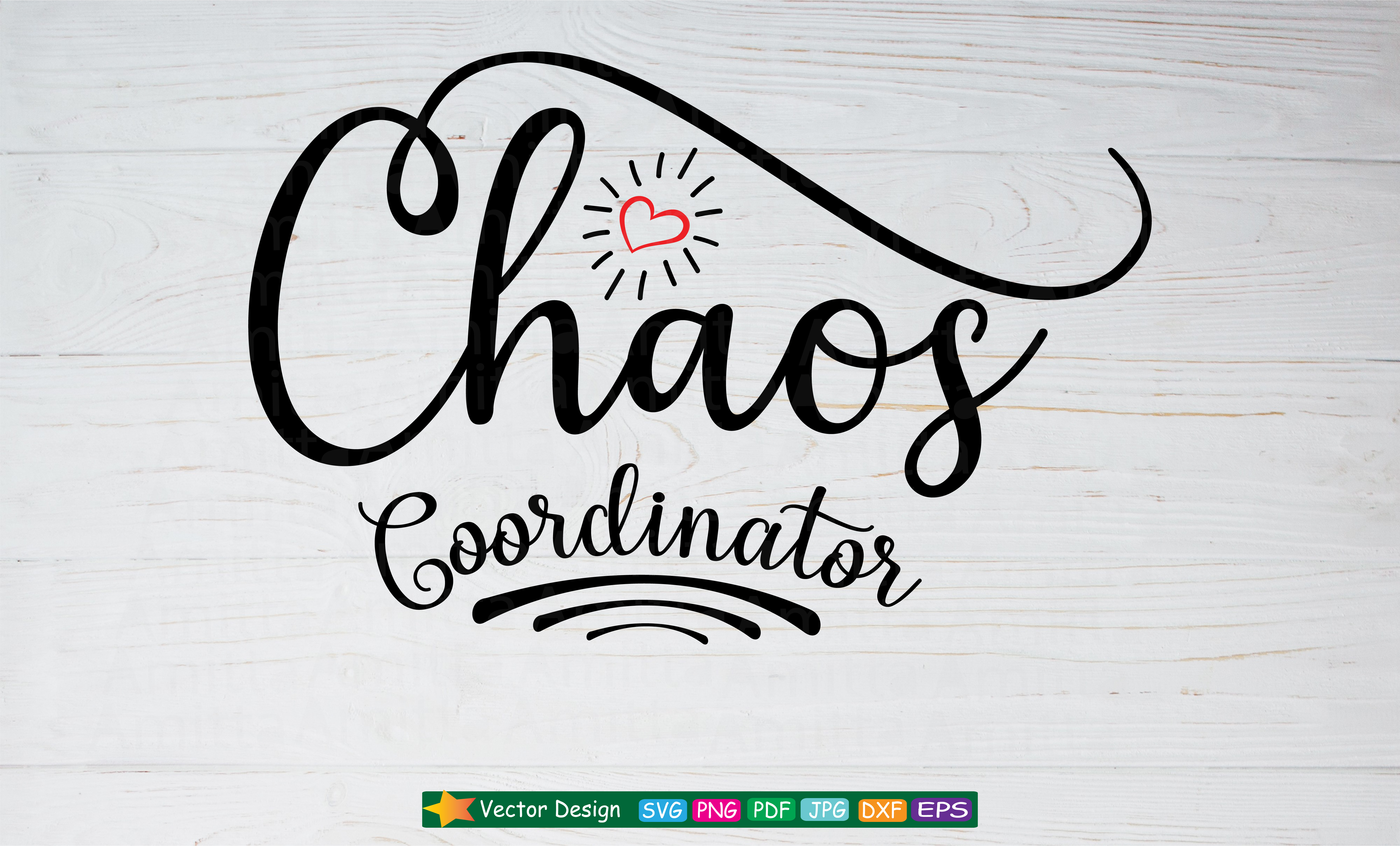 Download Free Chaos Coordinator Graphic By Amitta Creative Fabrica for Cricut Explore, Silhouette and other cutting machines.
