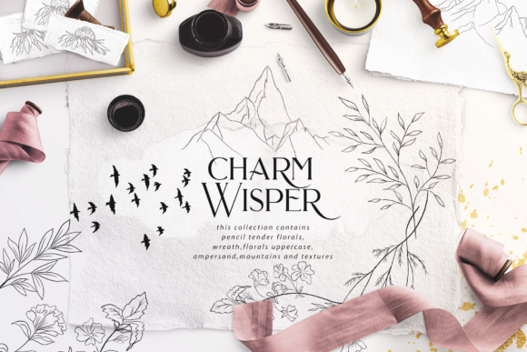 Charm Wisper Graphic Illustrations By BilberryCreate