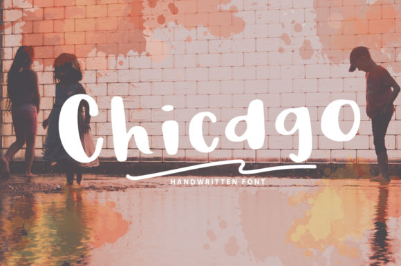 Print on Demand: Chicago Script & Handwritten Font By Studio_Art
