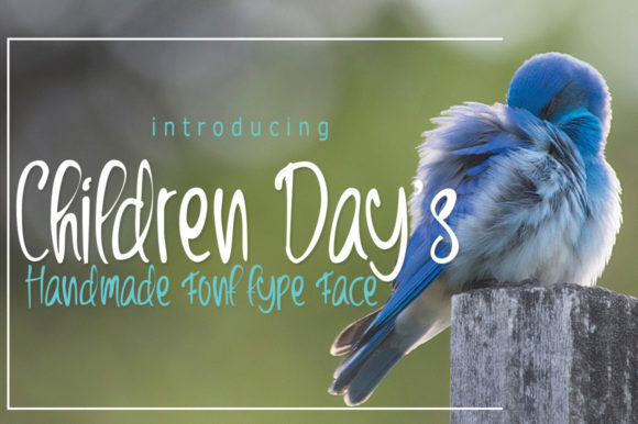 Print on Demand: Children Day's Script & Handwritten Font By jehansyah251