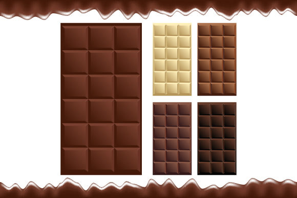 Chocolate Bar Package Graphic Illustrations By MrBrahmana